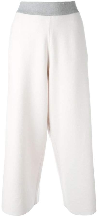 Fabiana Filippi straight cropped trousers