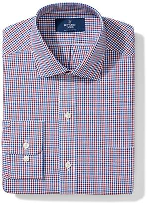 Buttoned Down Amazon Brand Men's Fitted Pattern Dress Shirt