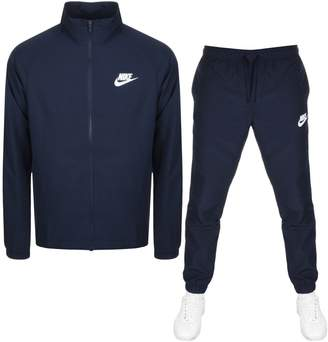 Nike Basic Tracksuit Navy