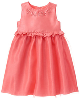 Gymboree Sunkist Coral Tulle Dress - Toddler