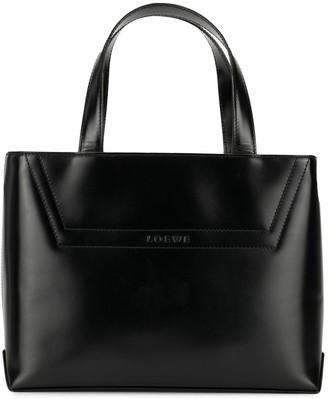 Loewe Pre-Owned Logo Hand Bag