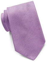 HUGO BOSS Square Textured Silk Tie