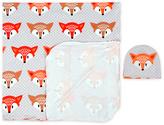 Orange Fox Swaddle Set
