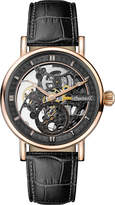 Ingersoll I00403 Herald Automatic IP rose gold, stainless steel and leather watch