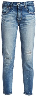 Moussy Lancaster Mid-Rise Skinny Jeans