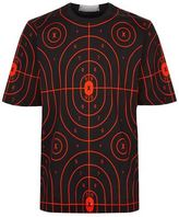 Christopher Kane Target Printed Oversized T-shirt