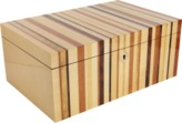 Ercolano Striped Jewelry Box