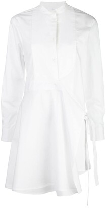 Rosetta Getty Long-Sleeve Tunic Shirt