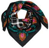 Diane von Furstenberg Silk Multicolor Scarf