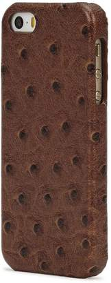 Factory The Case Ostrich-effect Leather IPhone 5/5S/SE Case