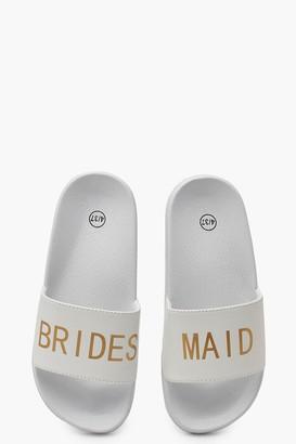 boohoo Bridesmaid Slogan Sliders