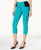 Thalia Sodi Skinny Elastic-Inset Capri Pants, Only at Macy's
