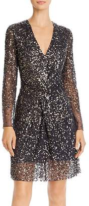 French Connection Emille Sparkle Sequined Dress
