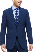 Jf J.Ferrar JF Blue Stretch Suit Jacket - Slim Fit