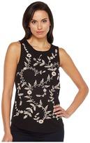 Lucky Brand Embroidered Tank Top Women's Sleeveless