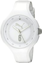 Puma Women's PU911201009 Wave Analog Display Quartz White Watch