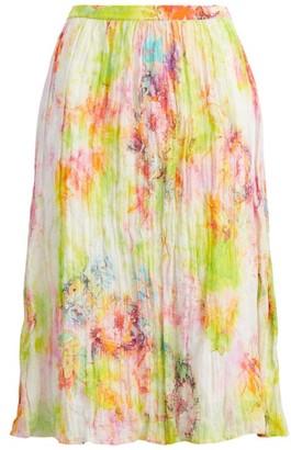 Ralph Lauren Floral Printed Sweater Skirt