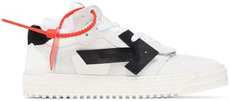 Off-White 3.0 Arrow Applique Mid-Top Sneakers