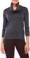 Cable & Gauge Cowl Neck Pullover