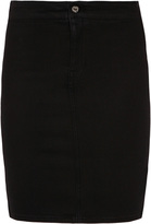 MiH Jeans Bodycon Pencil Denim Skirt