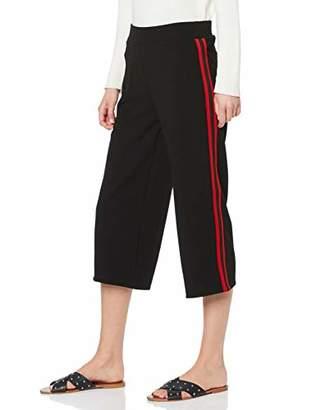 Tom Tailor Casual Women's Strukturierte Culotte Hose Mit Tapes Trouser,(Size: 34)