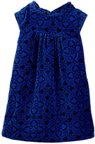 Tea Collection Valentina Velvet Dress (Toddler, Little Girls, & Big Girls)