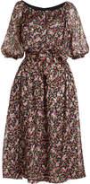 Vanessa Seward Printed Silk Dress