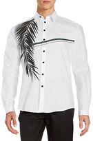 Carlos Campos Cotton Palm Sportshirt