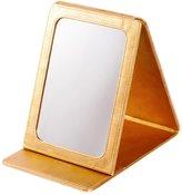 FSHFK the mirror of eauty/Diamond make-up mirror/ leather folding mirror/ minimalist mirror