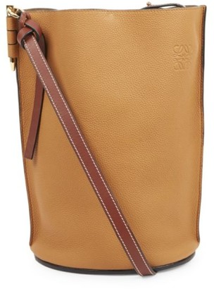 Loewe Gate Leather Bucket Bag