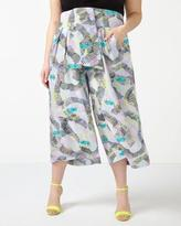 Penningtons MELISSA McCARTHY Printed Cropped Soft Pant