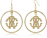 Roberto Cavalli Rc Icon Hoop Earrings