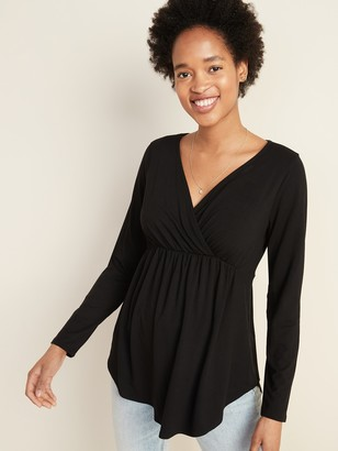 Old Navy Maternity Cross-Front Nursing Lounge Top
