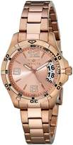 Invicta Women's Specialty Dial 18K Plated Stainless Steel