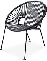 Mexa Ixtapa Lounge Chair - Gray/Black