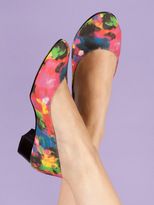 American Apparel Leslie Pump Canvas Shoe