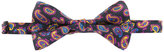 Etro paisley print bow tie - men - Silk - One Size