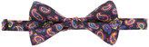 Etro paisley print bow tie