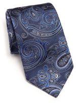 Ike Behar Medallion Paisley Silk Tie