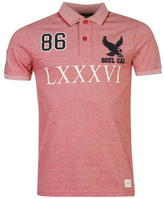 Soul Cal SoulCal Deluxe Numeral Polo