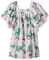 Seafolly Hawaiian Rose Angel Dress Cover-Up Girl's Swimwear