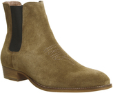 Ask The Missus Far West Cuban Embroidered Boots
