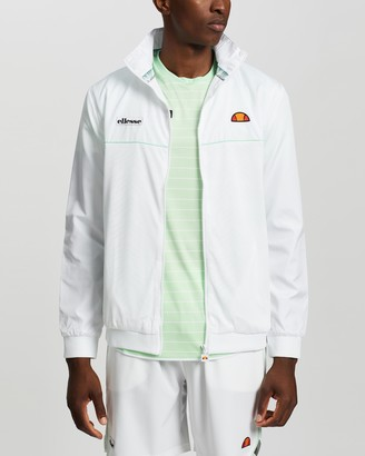 Ellesse Men's White Jackets - Capital Jacket - Size S at The Iconic