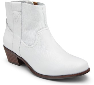 Vionic Tumbled Leather Ankle Boots - Roselyn