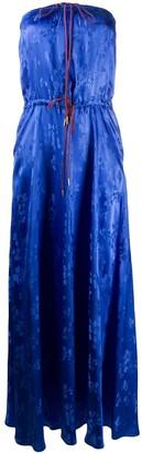 Essentiel Antwerp Vather strapless maxi dress