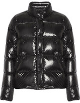Moncler Brethil Quilted Glossed-shell Down Jacket - Black