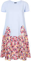 Jil Sander Navy floral print dress