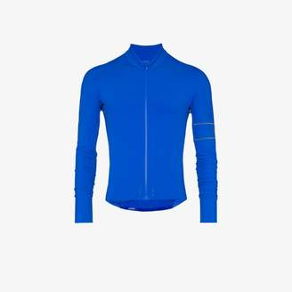 Rapha blue pro team long sleeve thermal jersey