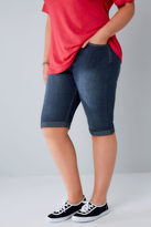 Yours Clothing Indigo Denim Long Shorts
