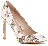 BCBGeneration Leigh Watercolor Floral Pump